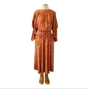 Vintage - 90s Italian Floral Dress
